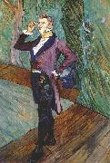 The actor Henry Samary Henri de toulouse-lautrec